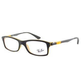 Ray-Ban Junior RY 1546 3435 Black/Yellow Plastic Rectangle Eyeglasses