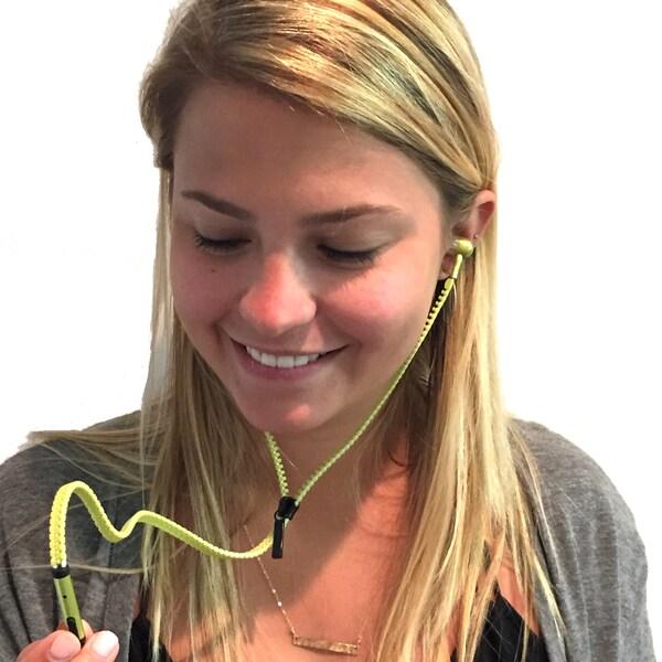 Zipper Headphones (Pack of 2)