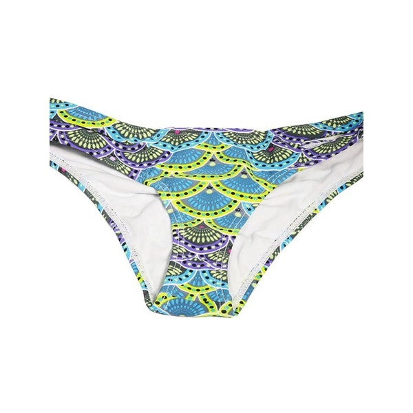 Asian Shells Cut Side Bikini Bottoms