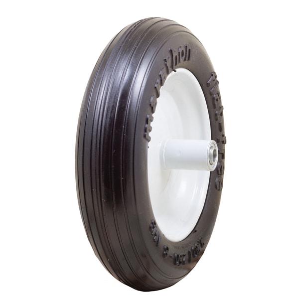 Marathon Industries 00003 13-inch Ribbed Flat Free Wheelbarrow Tire 20039106