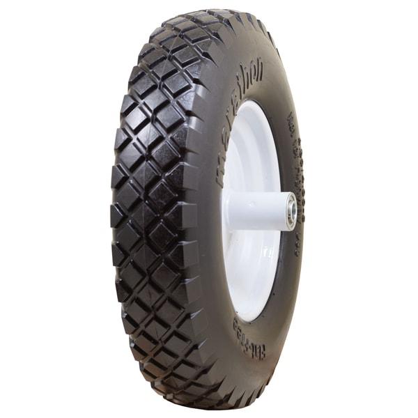Marathon Industries 00047 16-inch Knobby Flat Free Wheelbarrow Tire