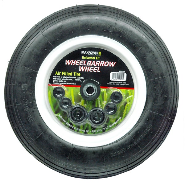 Maxpower 335268 Universal Wheelbarrow Wheel