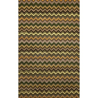 Winding Stripe Indoor Rug (9' x 12')