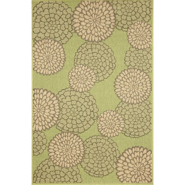 Multi Floral Outdoor Rug (3'3 x 4'11) - 3'3 x 4'11 20039734