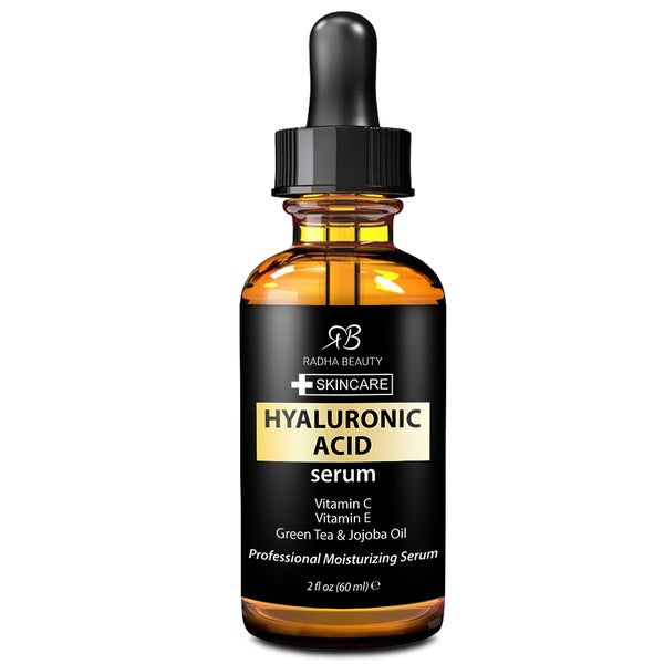 Radha Beauty 2-ounce Hyaluronic Acid Serum