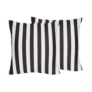 Sweet Jojo Designs Paris Decorative Accent Throw Pillow (Set of 2)
