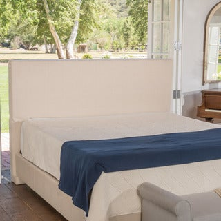 Christopher Knight Home Maddox Upholstered Fabric King Bed Set