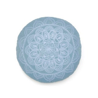 Under the Canopy Round Medallion Throw Pillow