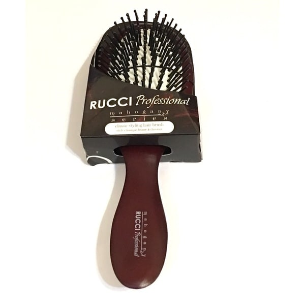 Oval Narrow Mahogany Series Hairbrush