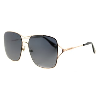 Givenchy GV 7004 DDB HD Gold Copper Metal Square Grey Gradient Lens Sunglasses