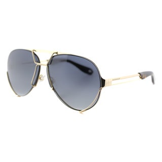 Givenchy GV 7014 J5G Interchangeable Lens Gold Metal Aviator Grey Gradient and Green Lens Sunglasses