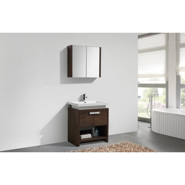 KubeBath Levi 30-inch Modern Single Sink Bathroom Vanity