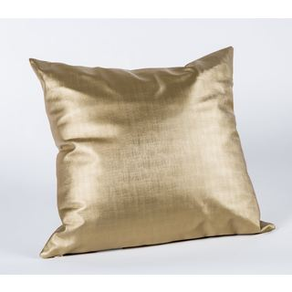 Shimmer Gold 19-Inch Square Decorative Pillow