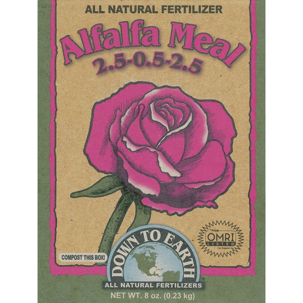 Down to Earth 17805 1-Pound Alfalfa Meal Fertilizer Mix