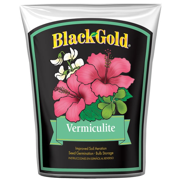 Black Gold 1490202 8 QT P 8 Quart Vermiculite