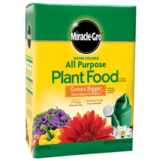 Miracle Gro 1001193 10-pound Water Soluble All Purpose Plant Food 24-8-16