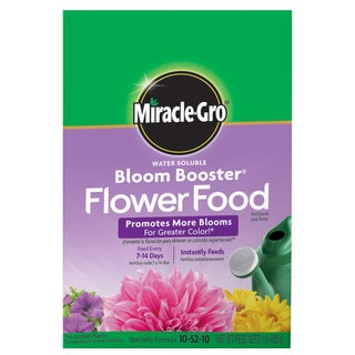 Miracle Gro 1360011 1-pound Water Soluble Bloom Booster Flower Food 10-52-10