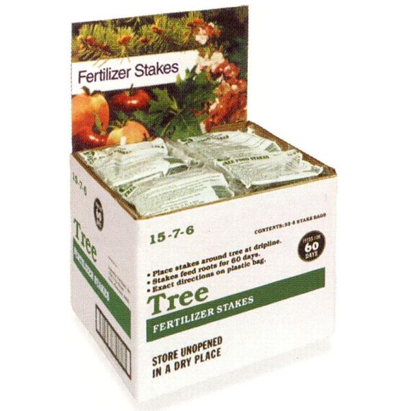 Jobes 2710 160 Piece Domestic Bulk Tree 15-3-3 Fertilizer Stakes