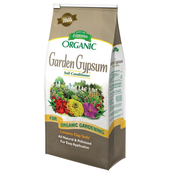 Espoma Organic GG6 6-pound Organic Garden Gypsum Soil Conditioner