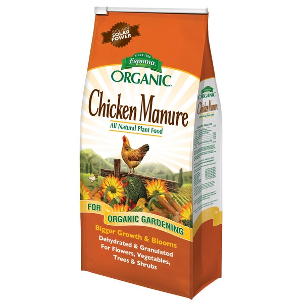 Espoma Organic GM3 3.75-pound Organic Chicken Manure Plant Food