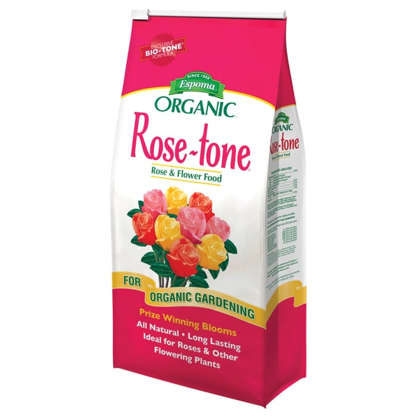 Espoma RT4 4-pounds Rose-tone 6-6-4 Plant Food 20047428