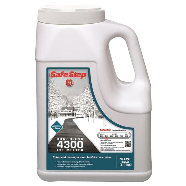 Safe Step 51088 12-Pound Jug Safe Step Dual Blend 4300 Ice Melter