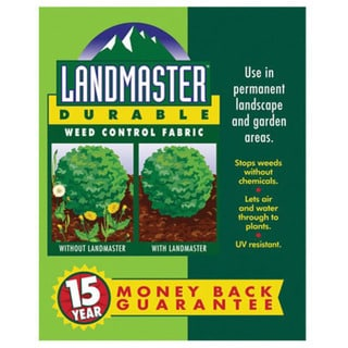 Easy Gardener 301041 3 feet x 50 feet Landmaster Durable Weed Control Fabric