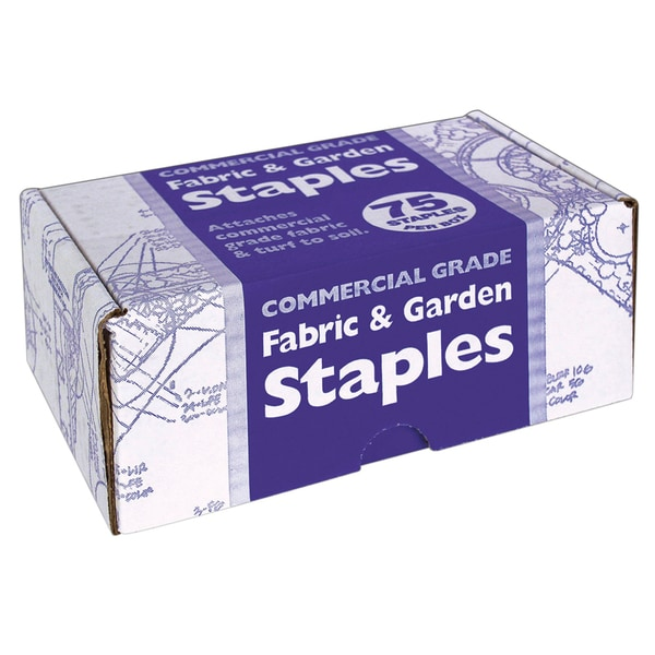 Easy Gardener 815 Fabric & Garden Staples 75-count