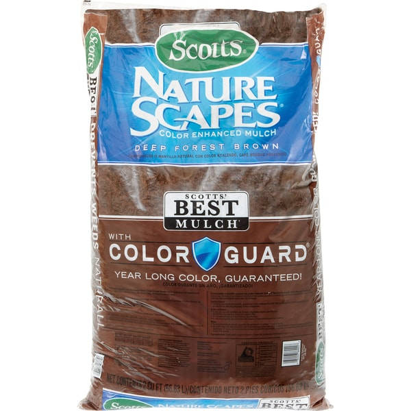 Scott feets 88602440 2 Cu Ft Deep Forest Brn Nature Scapes Color Enhanced Mulch 20048297