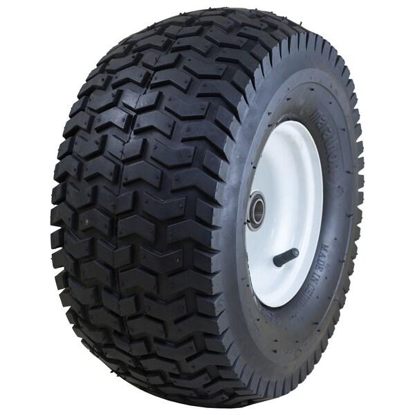 Marathon Industries 20346 15 X 6.50-6 Inches Pneumatic Turf Lawn Mower Tire 20048417