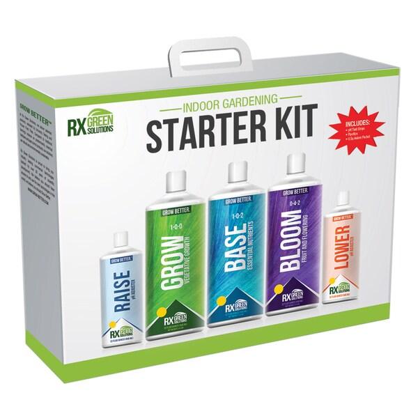 Rx Green Solution RX3PSKIT16 Gardening Starter Kit