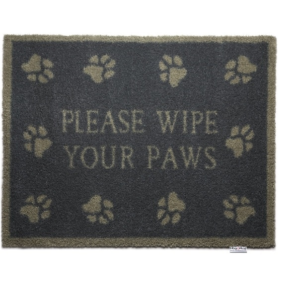 Hug Rug Eco-Friendly Dirt Trapper Wipe Your Paws Blue Washable Accent Rug (2'1.5 x 2'9.5)
