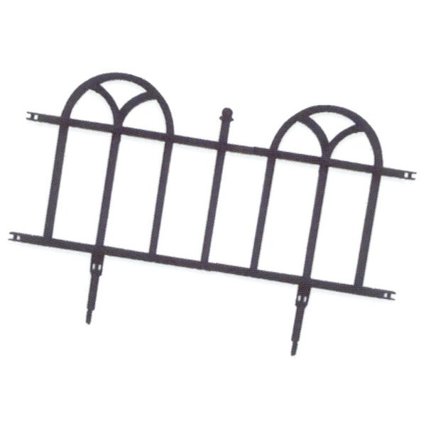 Easy Gardener 8840 24 Inches Forged Wrought UV Protective Plastic Border Border