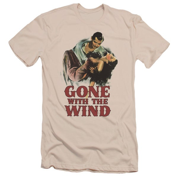Gone With The Wind/My Hero Short Sleeve Adult T-Shirt 30/1 in Cream