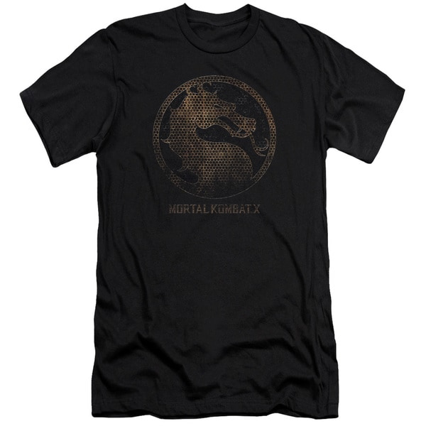 Mortal Kombat X/Metal Seal Short Sleeve Adult T-Shirt 30/1 in Black