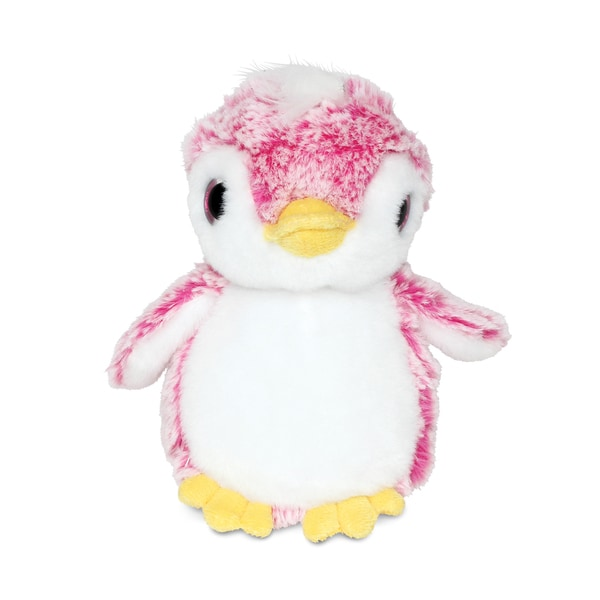 Puzzled Pink Super Soft Plush Penguin 20051585
