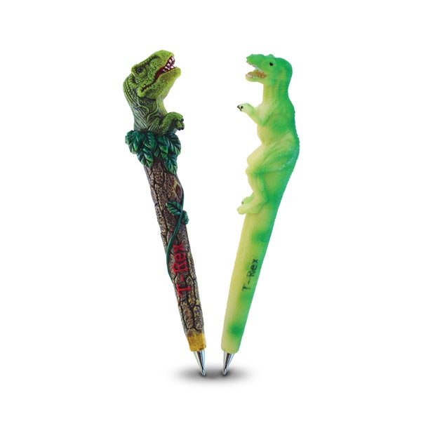 Resin Planet T-Rex and Wild T-Rex Collection Pens