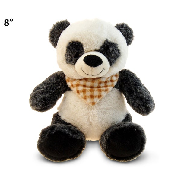Puzzled Super Soft Plush Sitting Panda 20051663