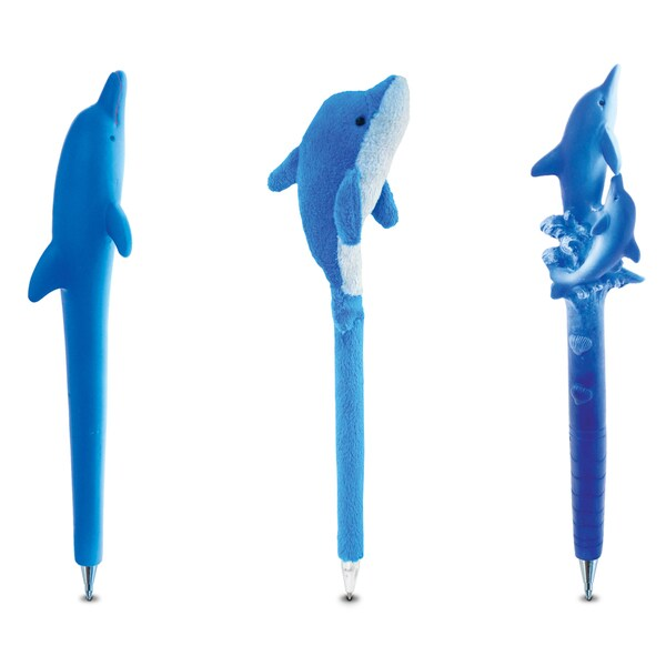 Puzzled Dolphin Planet Pen Collection (Set of 3)