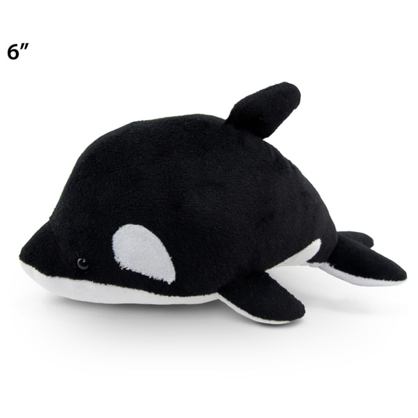 Puzzled Inc. 6-inch Plush Killer Whale Stuffed Animal 20051770