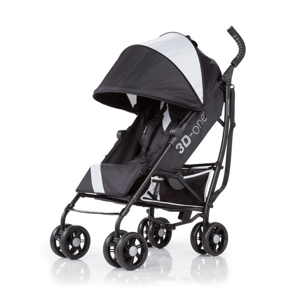 Eclipse Grey 3D One Polyester Infant Stroller