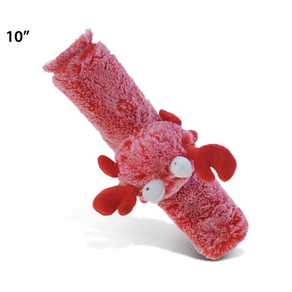 Puzzled Red Plush 10-inch Long Super Soft Crab Safety Belt Cover