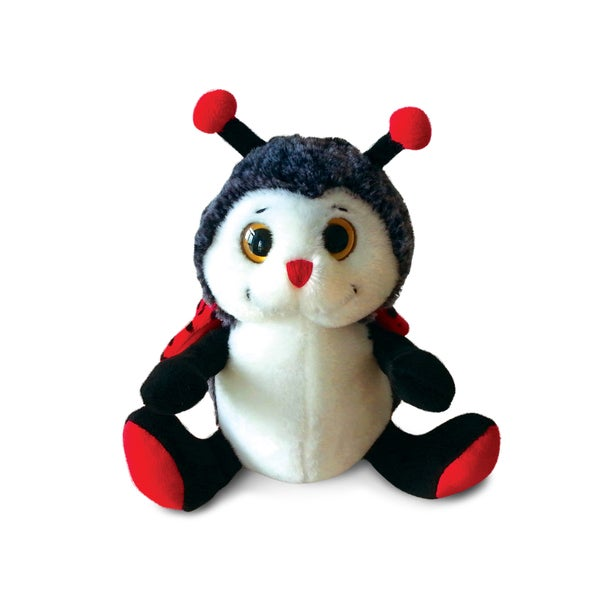 Puzzled Super Soft Sitting Ladybug Plush 20051865