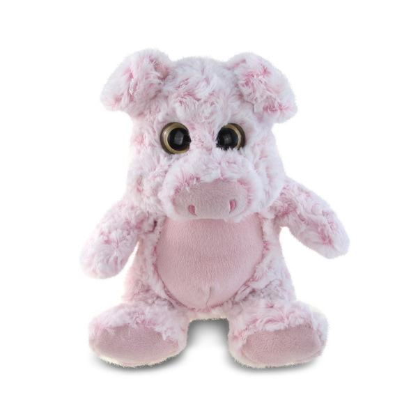 Puzzled Super Soft Sitting Pig Plush Doll 20051867