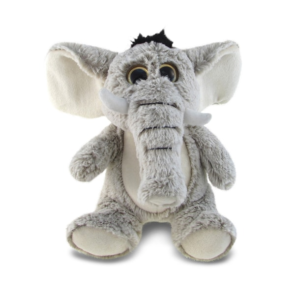 Puzzled Animal Collection Super-soft Plush Sitting Elephant