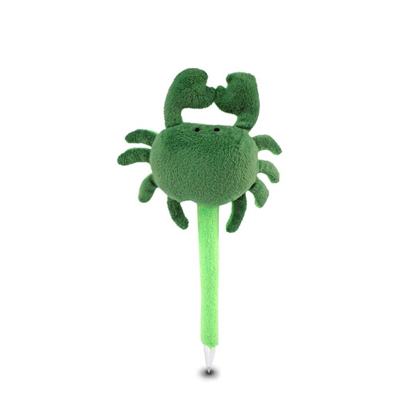 Puzzled Ocean Life Collection Plush Green Crab Pen