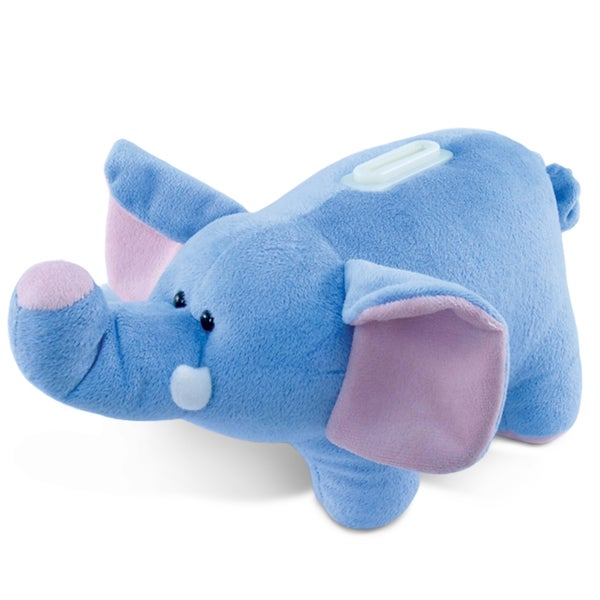 Puzzled Plush Elephant Bank 20052003