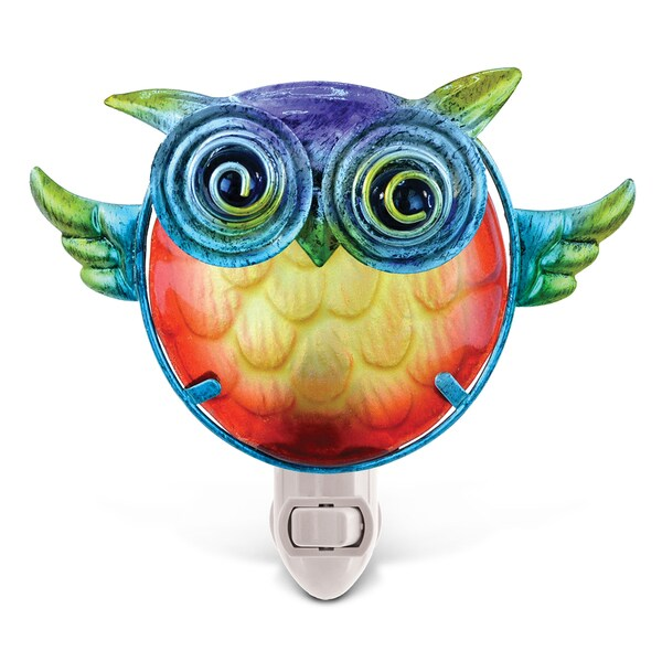 Puzzled Owl Night Light