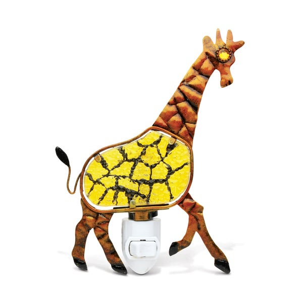 Puzzled Giraffe Night Light