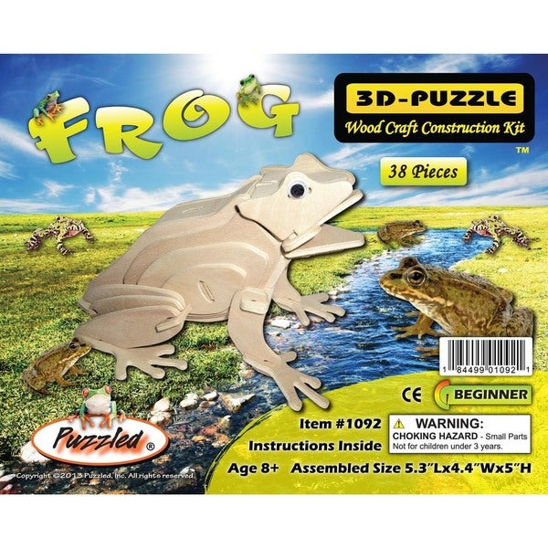 Puzzled 3D Puzzle Frog